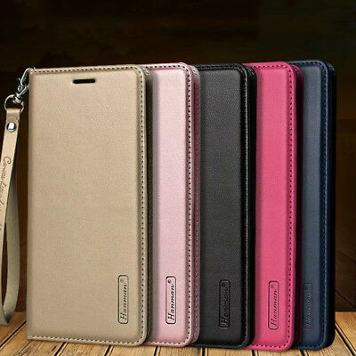 For Samsung Galaxy J4 J6 Plus J8 2018 Magnetic Wallet Flip Leather Case Cover