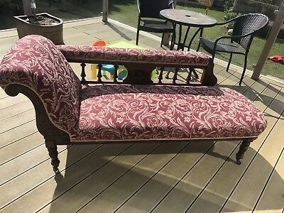 Antique Chair And Sofa (Chaise Longue)