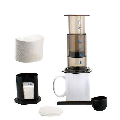 350PCS  Professional Round Coffee Maker Replacement Filter Paper for Aeropress