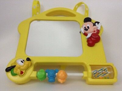 Fisher Price Disney Baby Crib Musical Mirror Activity Center Toy w/ Batteries