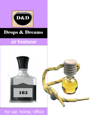 """103 Air Freshener D&D Perfume for Car Home Office - Creed """"Aventus"""""""