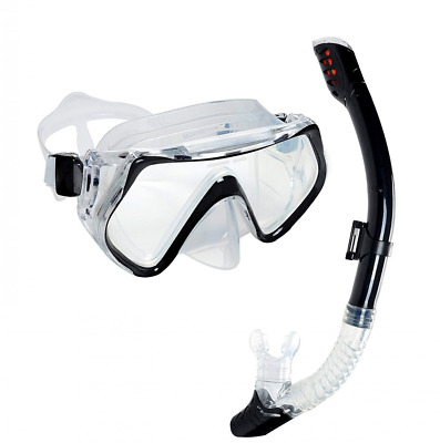 Leak-Proof Wide Field of View Snorkeling Mask Anti-Fog Scuba Diving US Shipping