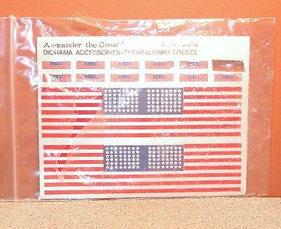 1/35 Alexander The Great Diorama Accessories United States Flags S016