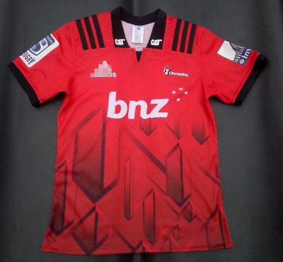 4e8e391de2d 2018 SUPER RUGBY New Zealand Crusaders Home Rugby jersey - £19.99 ...