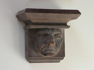 Architectural gothic church corbels