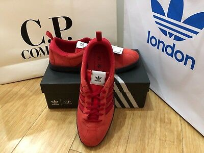 low priced ad8ae 7c99c ADIDAS ORIGINALS X CP COMPANY Tobacco RED Trainers UK8.5 US9 EUR42