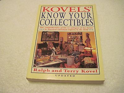 Kovels' Know Your Collectibles By Ralph And Terry Kovel