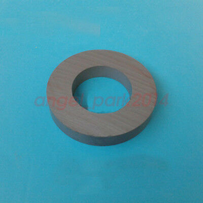 Lots 60 X 10 Hole:32mm Strong Round Disc Magnet Ferrite Y30BH Magnets Black