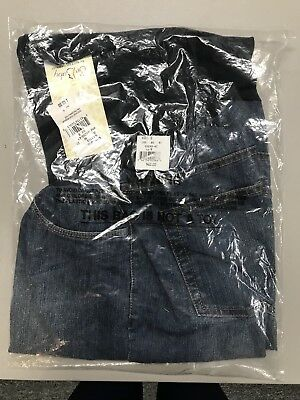 Oh Baby Maternity Shorts Motherhood Size S Blue Jean Secret Fit Belly Panel