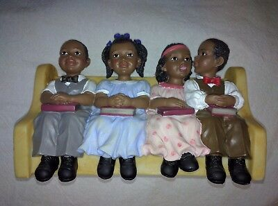 Sunday School Kids CHURCH Pew COLLECTION United Treasures UTI African American