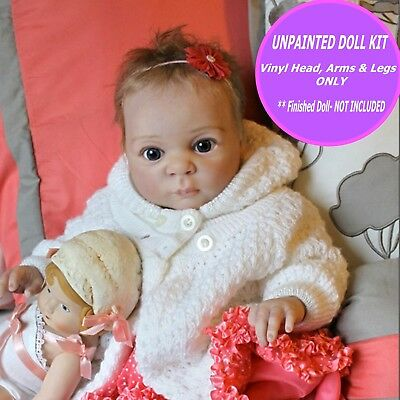 """Reborn baby doll kit Jake  20"""" when finished by you, vinyl parts only FREE GIFT"""
