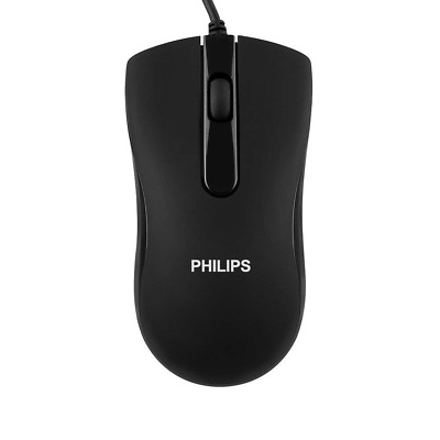 Wired USB Mouse Optical Portable Mice Ergonomic Design Compatible with PC etc
