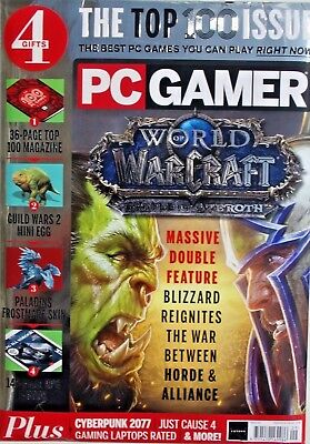 Pc Gamer Magazine Issue #321 2018 The Top 100 Issue ~ New ~