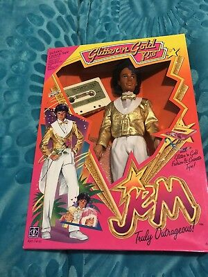 Jem and the Holograms Doll Rio Glitter 'n Gold Unopened