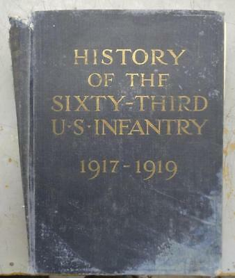 Ww1 History Of The 63Rd Infantry Division 1917-1919
