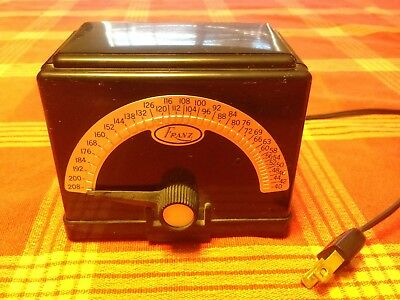 Franz Electric Metronome Excellent Condition Works great !