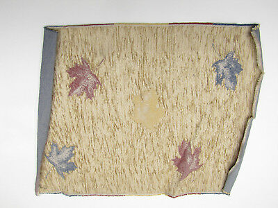 Fall Leafs - Unfinished Tapestry Fabric Place Mat Panel Wall Craft Piece 13x17