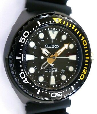 Seiko Prospex Kinetic GMT Diver's 200m Mens Watch - SPECIAL EDITION - NEW