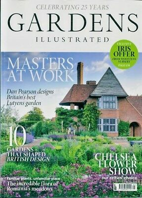 Gardens Illustrated Magazine Issue May 2018 ~ New ~