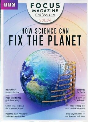 Bbc Focus Magazine Collection Vol.04 ~  2018 ~ How Science Can Fix The Planet