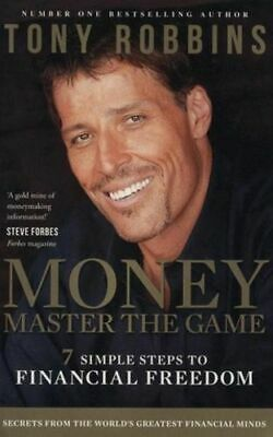 NEW Money Master the Game By Tony Robbins Paperback Free Shipping