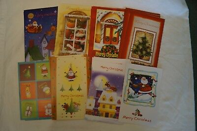 Christmas Cards - Bulk Lot of 32 - Excellent Condition - Various Themes -Unused.