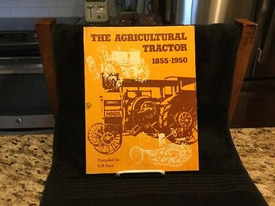 Rare 1975 Vintage Society Of Ag Engineers 1855-1950 Tractor History Book - 152 p