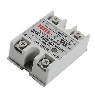 Solid State Relay 100 AMP - - 100A Max. - - Ac in AC out AC input AC output