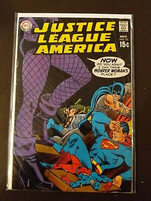 Justice League of America 75  1st Dinah Lance Black Canary