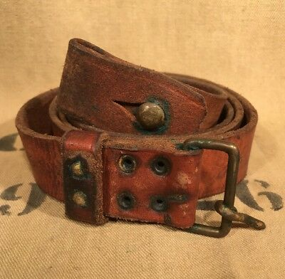 Swedish Mauser leather sling M1896 M96 M38 Good condition A