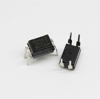10pcs PC817 PC817C EL817 817 Optocoupler SHARP DIP-4 New High Quality LCA