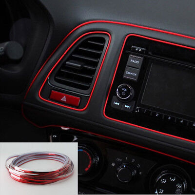 Edge Gap Line Interior Point Molding Accessory Garnish 5M Lihgt Lamp For Car