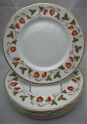 Crown Staffordshire Dinner Plates - Set of 9
