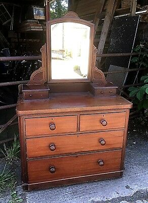 Victorian Mahogany Dressing Chest
