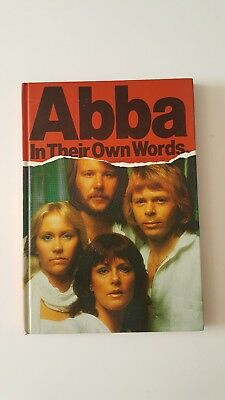 Abba Hardback UK Book - In Their Own Words