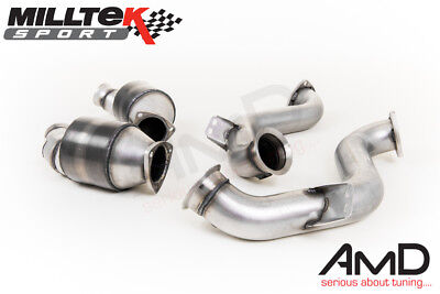Milltek Mercedes C63 Sports Cat Downpipe Exhaust W205 Turbo inc C63s SSXMZ118