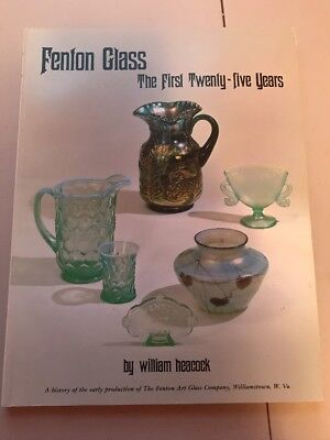 William Heacock - Fenton Glass: The First Twenty-Five Years -softcover 144 pages