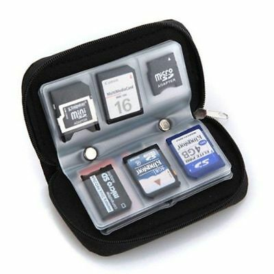 HC MMC CF Memory Card Storage Carrying Pouch Case Holder Wallet