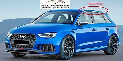 Audi A3 S3 RS3 2013 2014 2015 2016 2017 Roof Rails Rack Bars Sportback 8V Strip