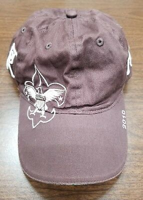 BOY SCOUT Seven Ranges Reservation Buckeye Council Hat Strapback Cap Brown 2010