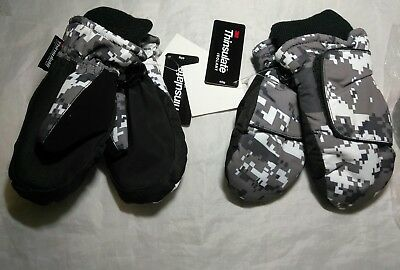 Toddlers Waterproof Thinsulate Gloves Size Small/medium. 2 Pairs