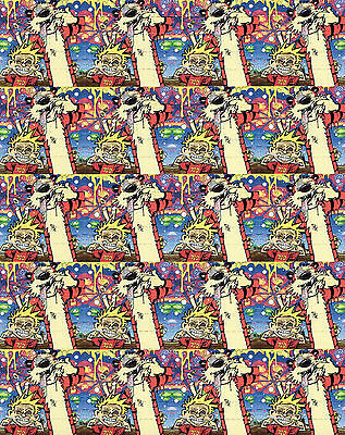 HOBSTERS - blotter art - psychedelic goa acid artwork