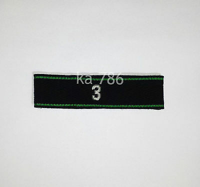 Wwii German Army 3Rd Company Cuff Title Repro