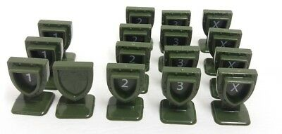 Heroscape 16 Order Markers Replacement Pieces for Master Set Swarm Of The Marro