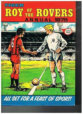 1975 Roy Of the Rovers Annual VGC