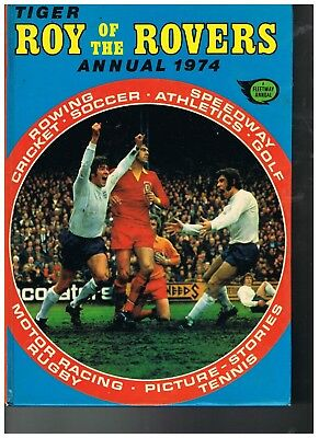 1974 Roy Of The Rovers Annual VGC