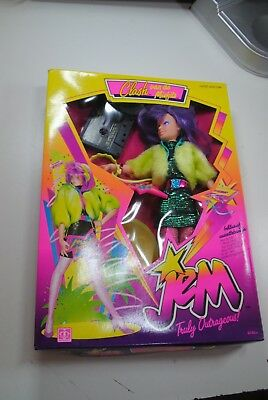 Hasbro 80's Jem And The Holograms  ' Clash  -Misfits    Nrfb  !