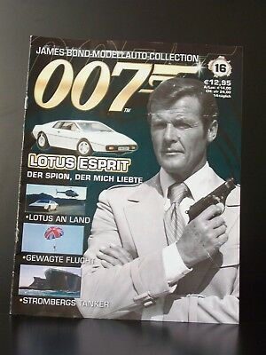 James Bond Collection Begleitheft Nr. 16 deutsch