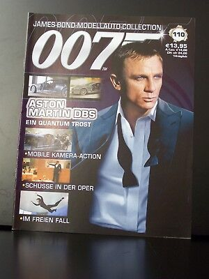 James Bond Collection Begleitheft Nr. 110 deutsch