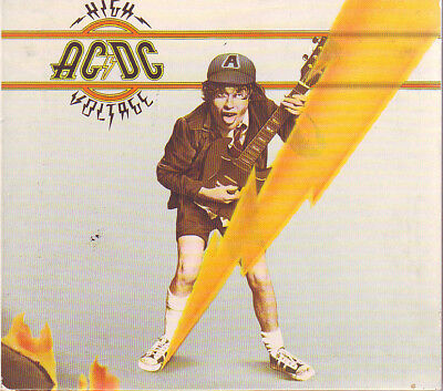 AC/DC - High Voltage (Digipak) (CD, 1976, Epic) Booklet Included